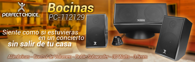 Bocinas Perfect Choice PC-112129