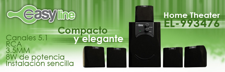Easy Line Home Theater EL-993476