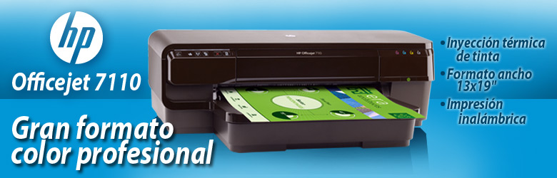Impresora Officejet 7110