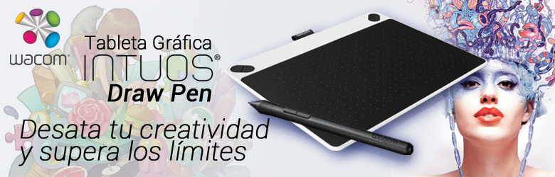 Tableta Grafica Wacom Intuos Draw Pen