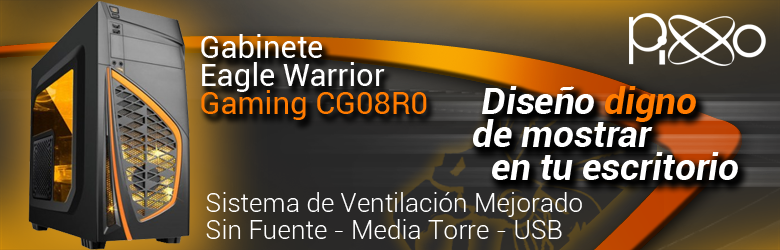 gabinete eagle warrior gaming cg08r0