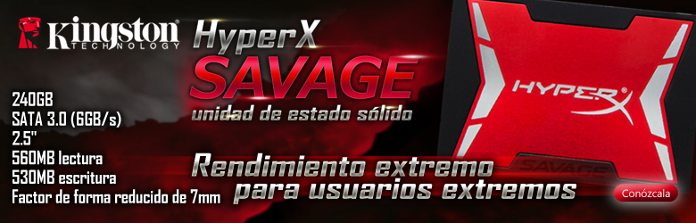 hyper x savage kingston SSD 240GB