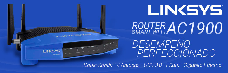 Linksys WRT 1900AC Ultra Smart Wi-Fi Router AC1900