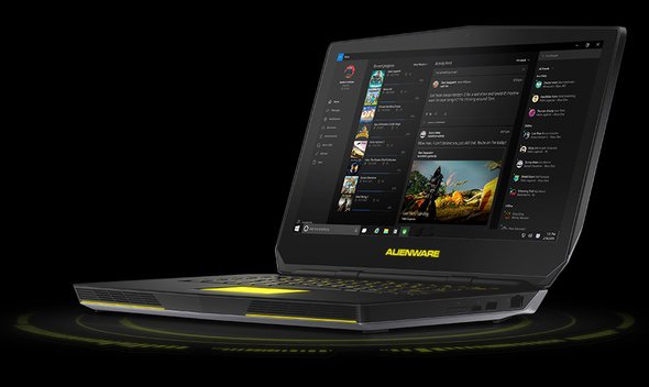 Imagen Lateral Laptop Dell Alienware 15 R2