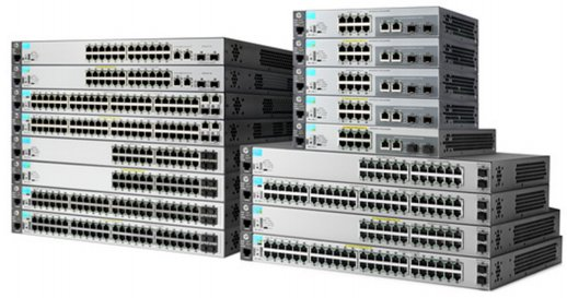 Imagenes Torre de Switches HP Aruba