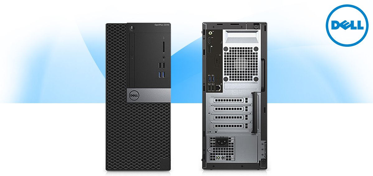 Banner De Computadora Dell Optiplex 3040