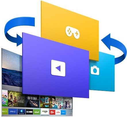 Aplicaciones Multimedia Pantalla Curva Smart TV
