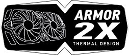 Logo Armor 2x Thermal Design