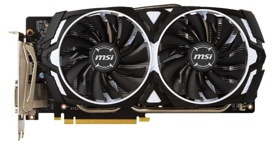 Tarjeta de Video MSI GeForce 1060