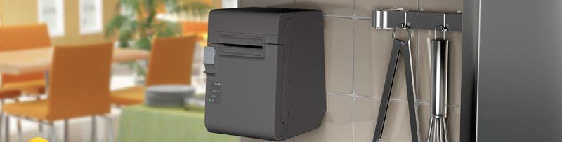 MiniPrinter Epson Empotrada en pared