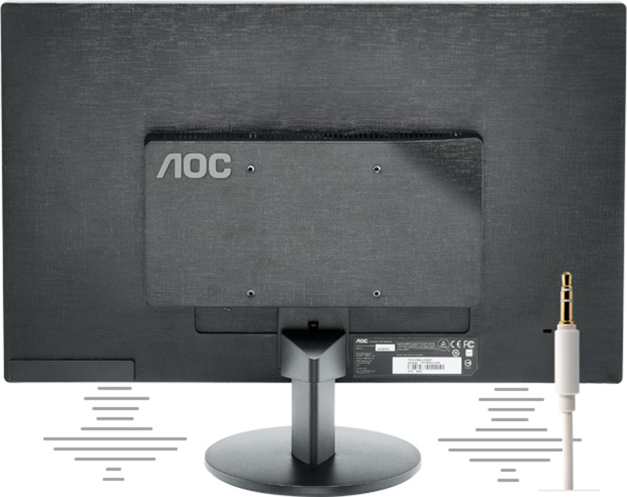 Altavoces Integrados de Monitor AOC LED E2070SWN