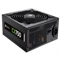 Fuente de Poder Corsair CX750 - 750W - 80 Plus Bronze - 120mm - Certified Refurbished