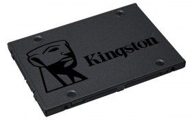"Unidad de Estado Sólido Kingston A400 - 2.5"" - 240GB - SATA 3 - Negro"