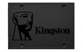"Unidad de Estado Sólido Kingston A400 - 2.5"" - 480GB - SATA 3 - Negro"