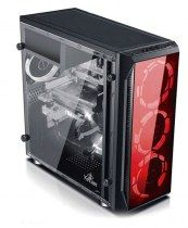 Gabinete YeYian MAYHEM 1200 - Media Torre - ATX - 3 Ventiladores - Panel Lateral
